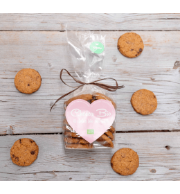 Biscotti vegani cioccolato e noci