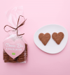Cuori di cacao e nocciole